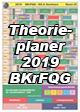 Theorieplaner 2019 Berufskraftfahrer zum Download