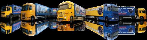 FAHRSCHULE allroad - Fahrzeuggruppe mit verschiedenen LKW´s