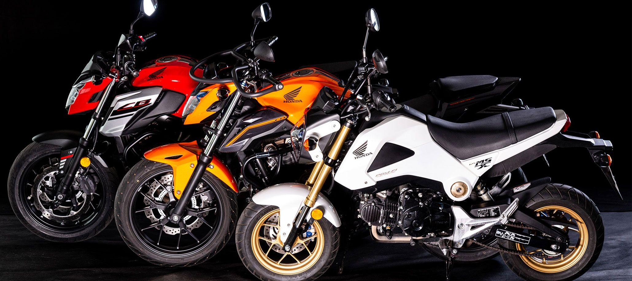 Motorrad Ausbildung in Berlin - Klassenaufstieg - 3 Motorräder