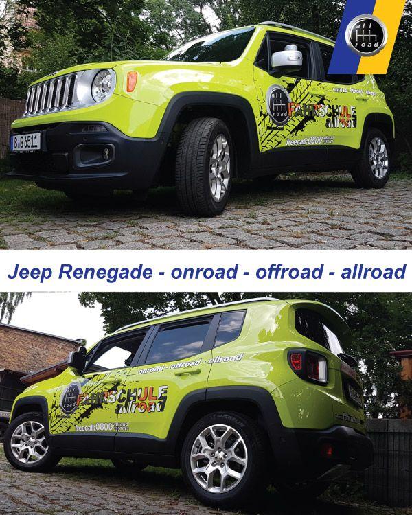 Fahrschule Berlin allroad - Jeep Renegade