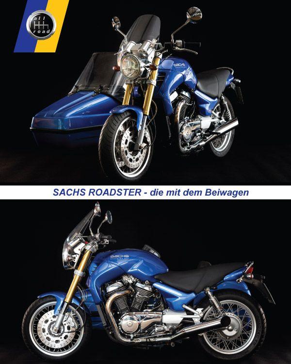 Fahrschule Berlin allroad - Motorrad Sachs mit Beiwagen